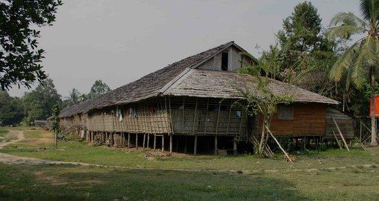 Ensaid Panjang Longhouse in Sintang Region of West Kalimantan. Beautiful longhouse, great peopl