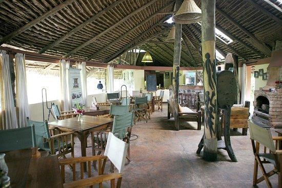 Kiboko Lodge: Dining Room