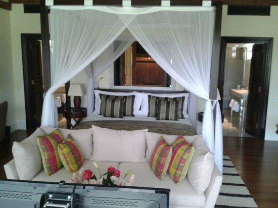 Hemingways Nairobi: la chambre vue de la terrasse
