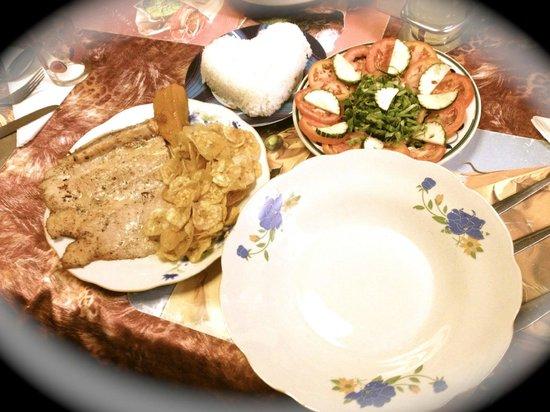 Hostal Vista Park : Dinner