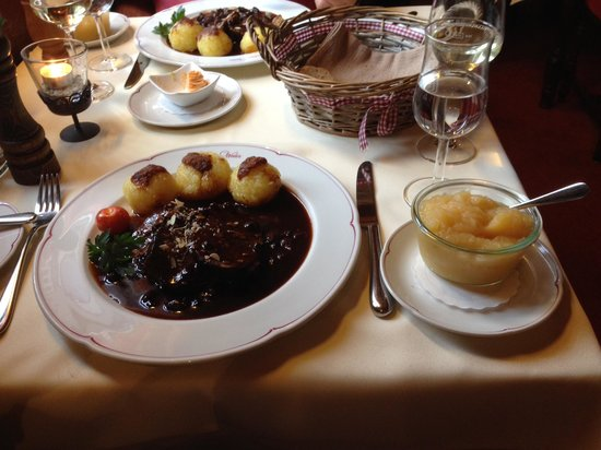 Weinhaus Weiler: Delicious and beautifully served dinner!