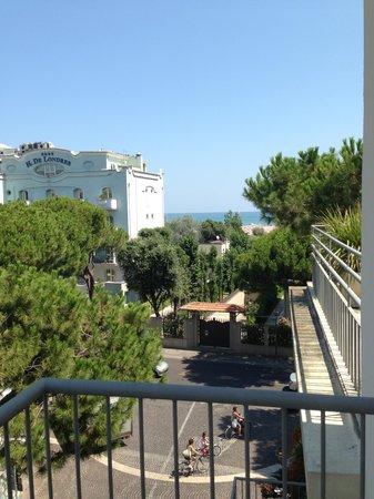 Hotel Trieste : Вид из номера