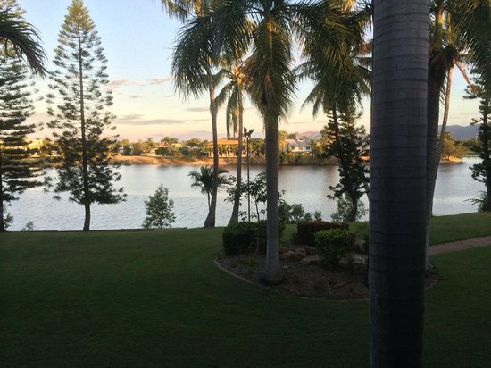 Mercure Townsville: View of lake from balcony