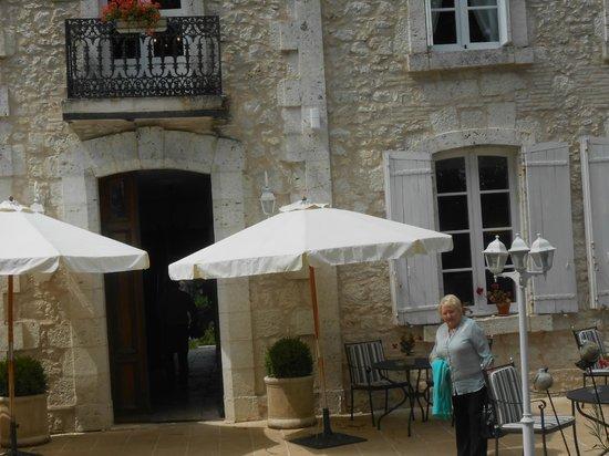 Château de l'Hoste : Entrance