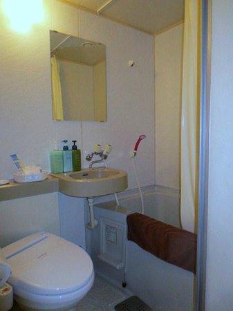 Garden Hotel Kitakata: 浴室