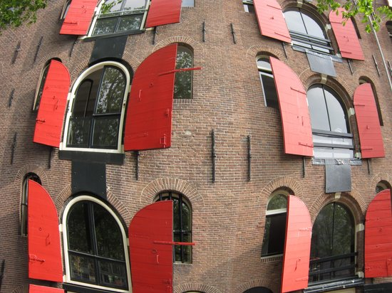 Inntel Hotels Amsterdam Centre: Fish Eye of apartments on Canals