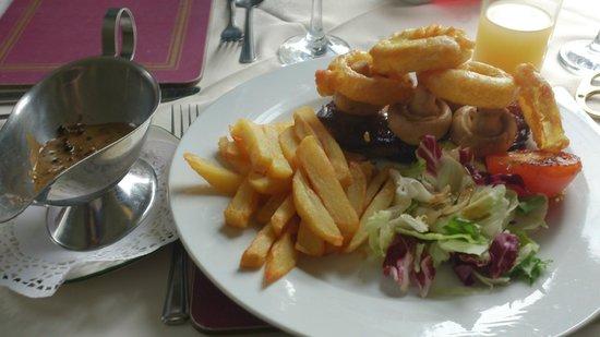 The Spiggie: Steak dinner