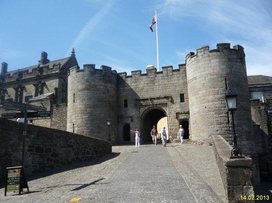 Stirling Castle: Вход