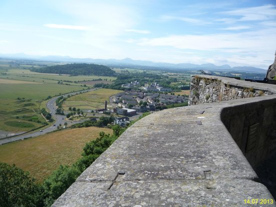 Stirling Castle: Стена и окрестности