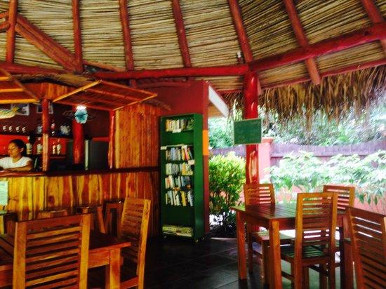 El Pequeno Gecko Verde : petite réception et salle à petit déjeuner