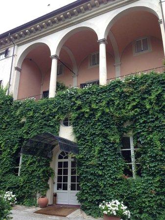 Villa La Principessa : Hotel entrance, main suite balcony