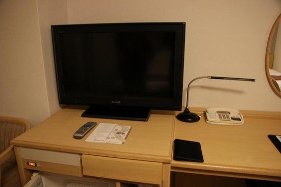 Richmond Hotel Hamamatsu : Sonyのテレビ