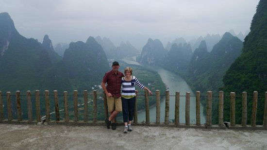 Yangshuo Tea Cozy : Amazing views on our day tour with Curry