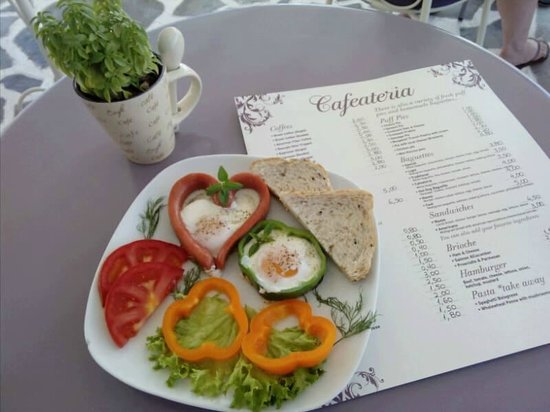Cafeateria: breakfast time :)