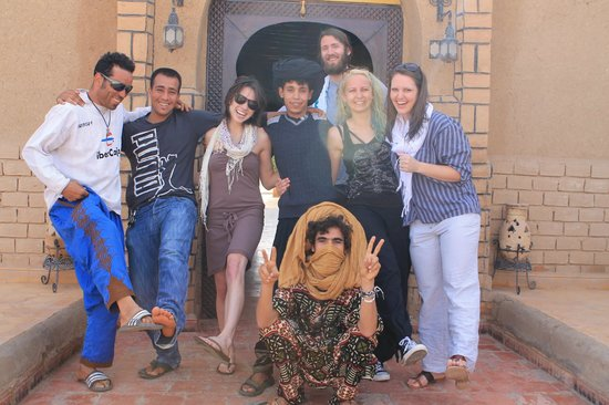 Camel Excursions Morocco : New and Old Friends