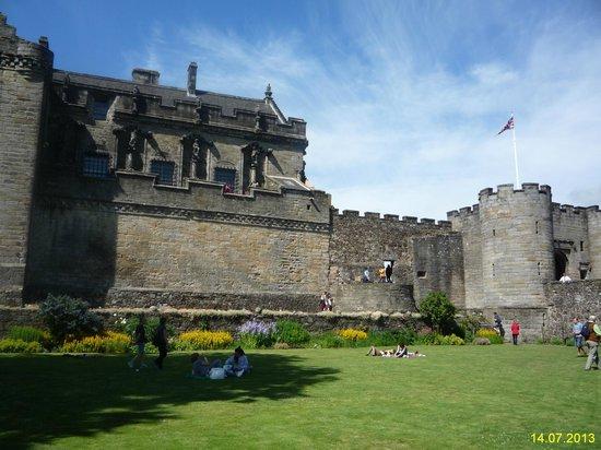 Stirling Castle: Внутренний двор