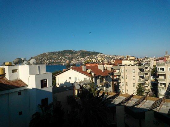 Eftalia Aytur Hotel: Het uitzicht vanaf onze kamer (5e verdieping)
