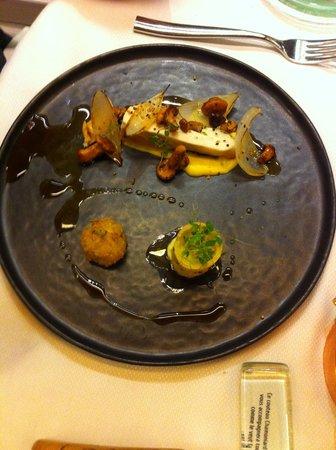 Restaurant Yoann Conte : Volaille
