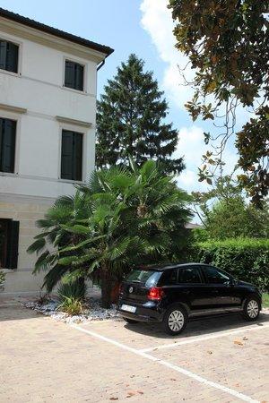 Hotel Villa Foscarini: Территория отеля