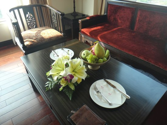 Imperial Hotel : welcome fruit bowl