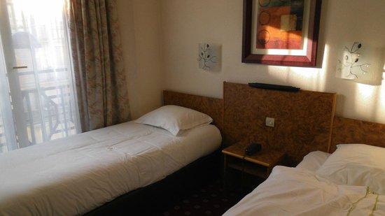 Hotel Du Trosy: łóżko wygodne i czyste