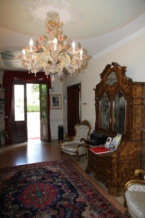Hotel Villa Foscarini : Холл