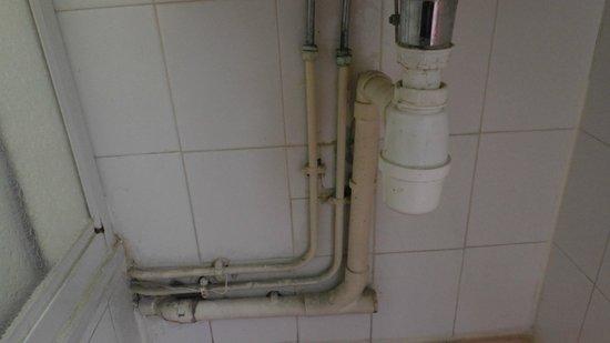 Hotel Du Trosy: łazienki ciąg dalszy