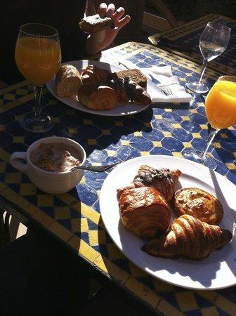 Diwane Hotel: petit-déjeuner