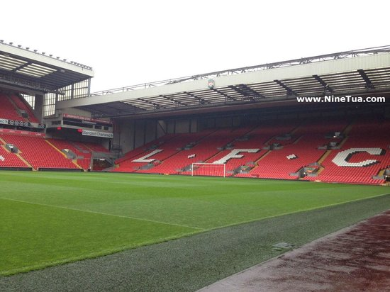 Anfield Stadium : ภายในสนาม