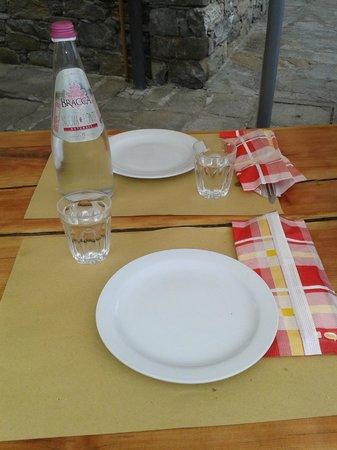 Il Crotto di Arzo: tavola