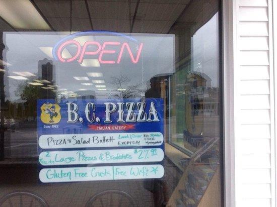 BC Pizza of Mackinaw City: BC Pizza, Mackinaw City, MI