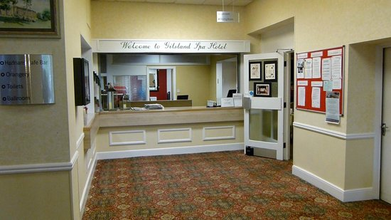 Gilsland Spa Hotel: Reception