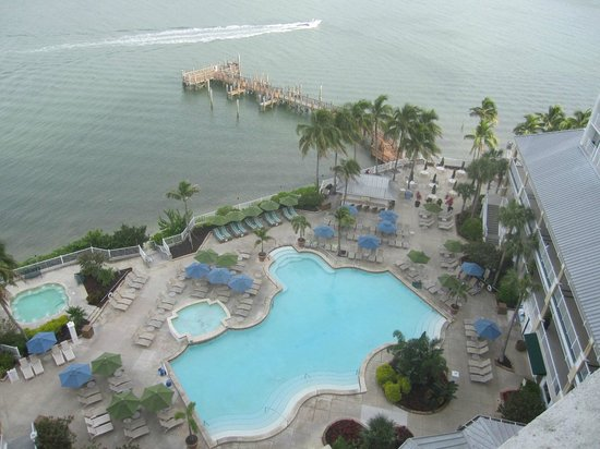 Sanibel Harbour Marriott Resort & Spa : View from our balcony