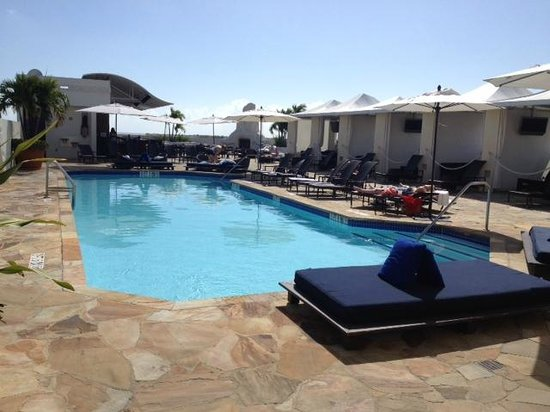 Mayfair Hotel & Spa: Rooftop pool has great view!