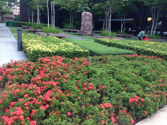 Days Hotel Singapore At Zhongshan Park: Zhongshan Park is just below Days Hotel