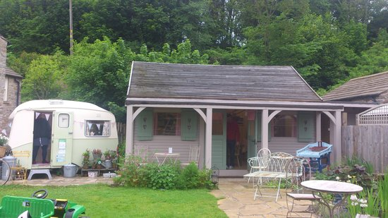 Yorkshire Tea Party: garden and tea room
