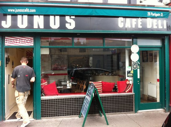 Juno's Cafe: Juno's : It's all about the money it seams.
