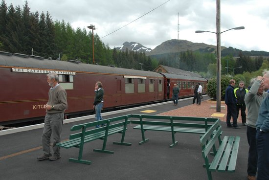 Crianlarich Station Tearoom: Lunch Train