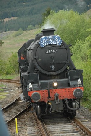 Crianlarich Station Tearoom: Steamtrain