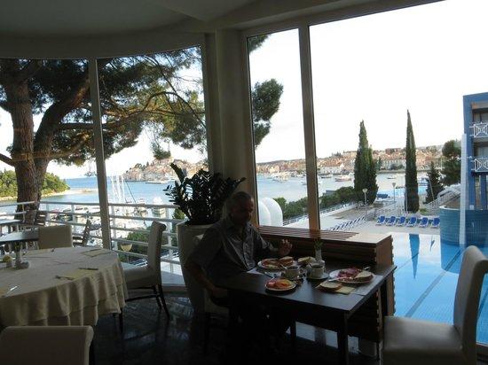 Hotel Park: Blick vom Frühstück aus