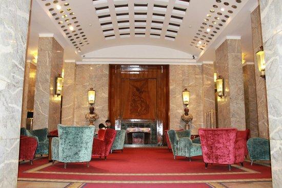 Bettoja Hotel Mediterraneo: Sala da lettura