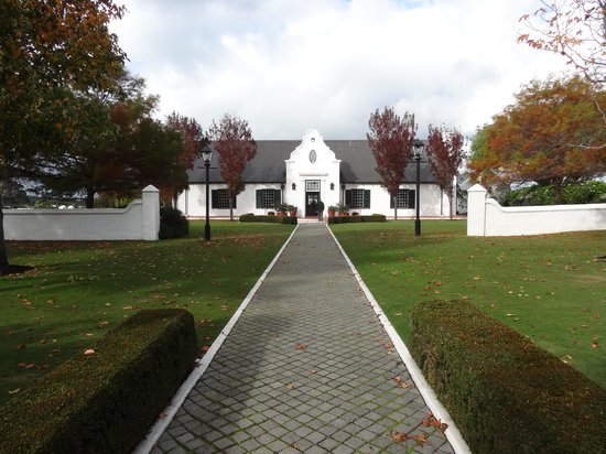 Voyager Estate: The Dutch style building