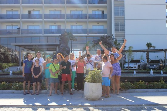 Palm Wings Beach Resort: You can find very good friends!