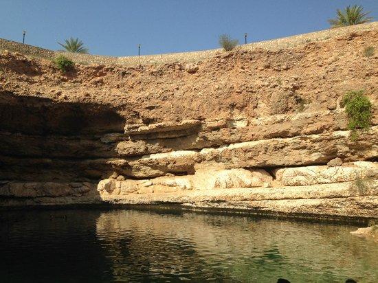 Bimmah Sink hole: amazing from the bottom