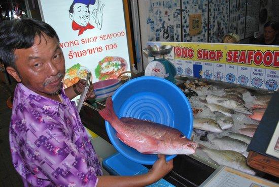 Kwong Shop Seafood: Oooooookey Mr. Kwong!
