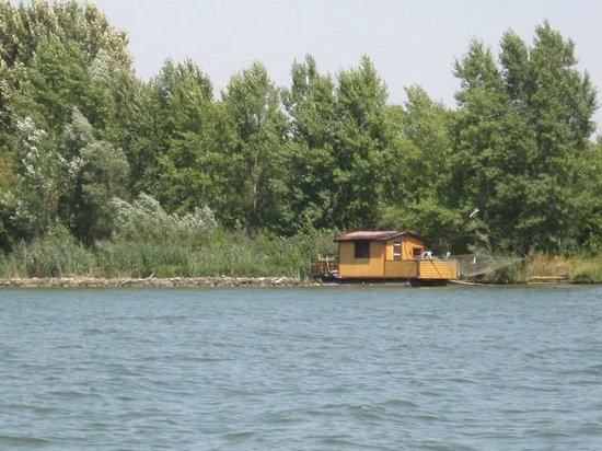 Alte Donau: casetta