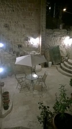 Cappadocia Castle Cave Hotel: la terrasse