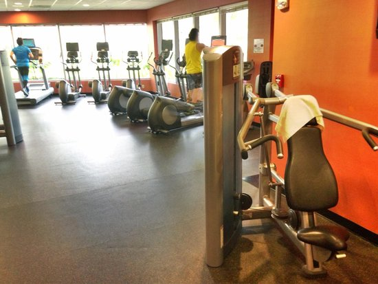 Courtyard by Marriott Miami Airport: Angle 3 of fitness center