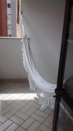 San Marino Maceio: Rede na varanda