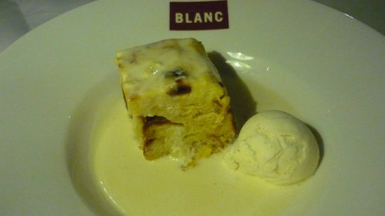 Brasserie Blanc Southbank: BREAD AND BUTTER PUDDING